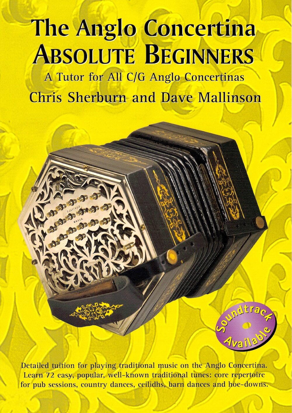 The Anglo Concertina Absolute Beginners - CD1枚付(英文)
